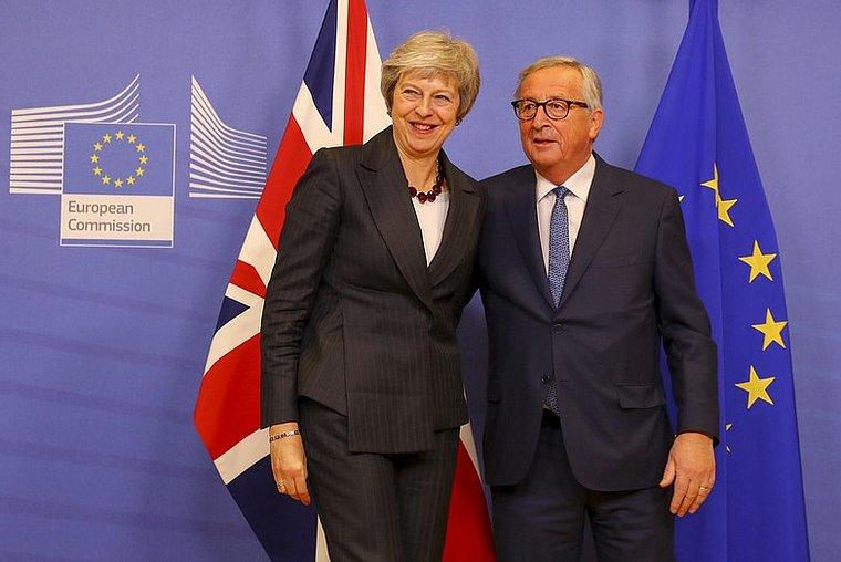 Theresa May et Jean-Claude Juncker, le 22 novembre 2018 - Crédits : Number10 / Flickr